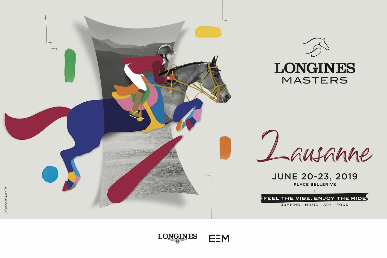 See you in Lausanne for the next Longines Masters by EEM.