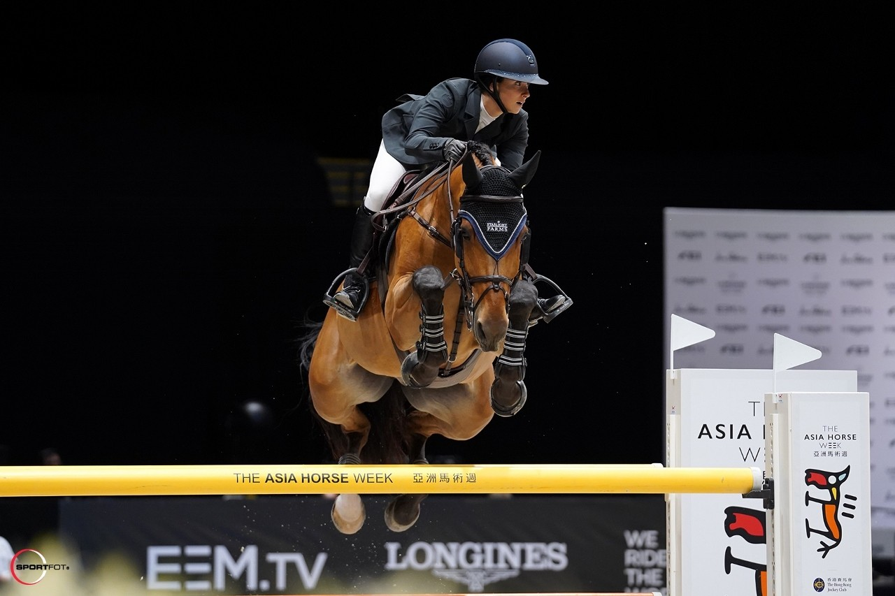Adrienne Sternlicht and Fantast. Photo by Sportfot for EEM