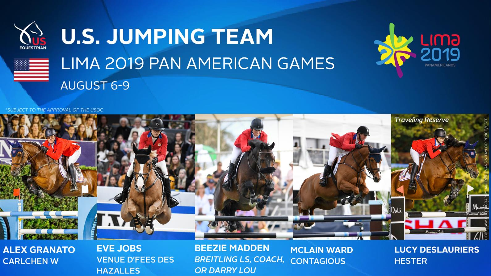 World Equestrian Games 2020.U S Show Jumping Team Selected For Pan Am Games Lima 2019